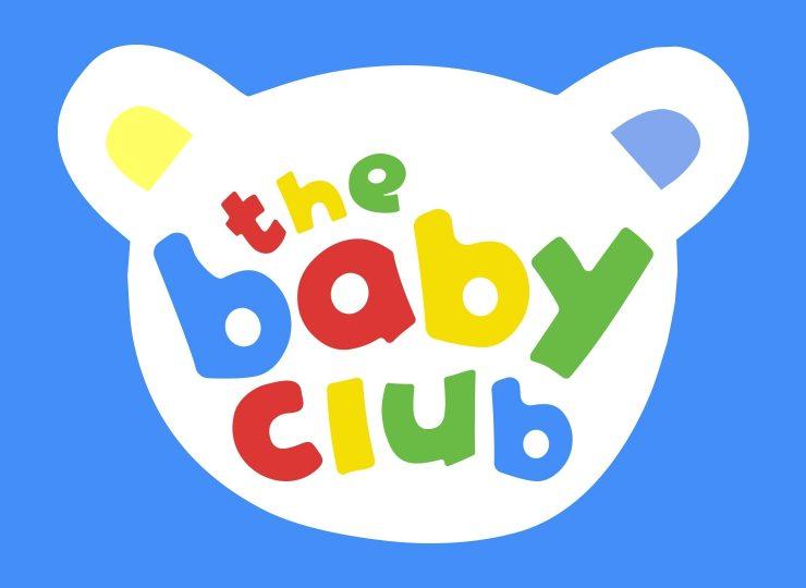 THE BABY CLUB LOGO BLUE BG